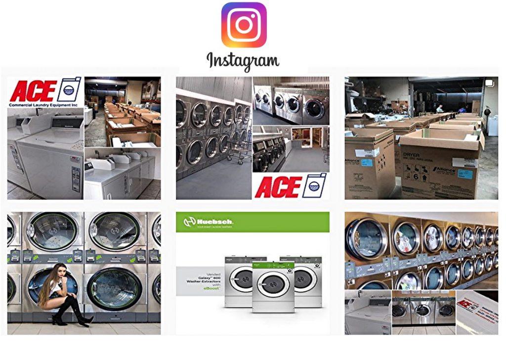 Follow Ace Laundry On Instagram